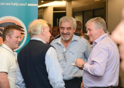 The FNB Franchise Leadership Summit 2014 – Johannesburg Gallery - Barry Parker, Eric Parker (Partner Franchising Plus), Ian Fuhr (CEO of Sorbet) and Jeff Zidel