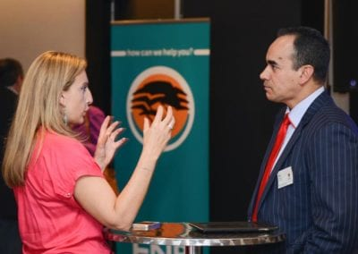 The FNB Franchise Leadership Summit 2014 – Johannesburg Gallery - Guest and Nico Jacobs (Senior Operations Director of McDonald s)
