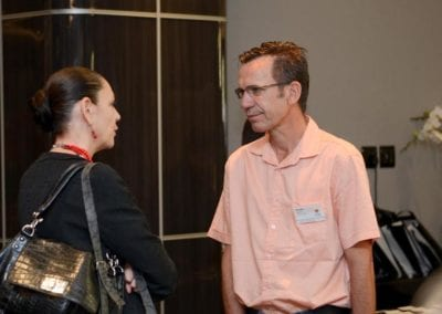 The FNB Franchise Leadership Summit 2014 – Johannesburg Gallery - Guest with Gerald Brown (DoRego s)