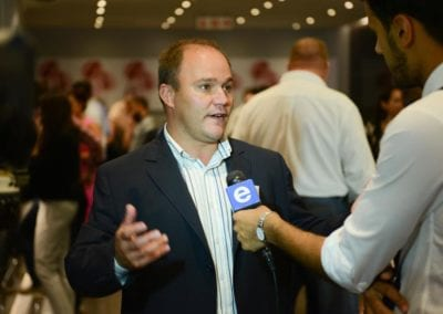 The FNB Franchise Leadership Summit 2014 – Johannesburg Gallery - Morne Cronje (FNB Head of Franchising) interview with e-TV