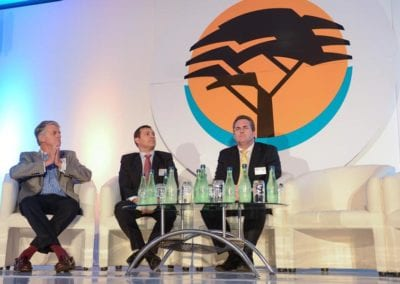 The FNB Franchise Leadership Summit 2014 – Johannesburg Gallery - Panel with Grant Pattison, Warren Adams and Dave Hendrie. Taking a company into Africa