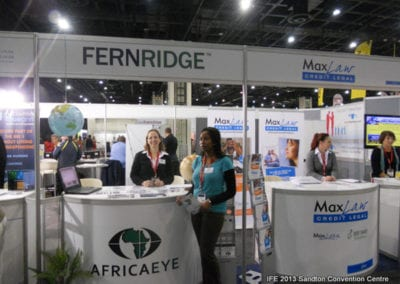 The International Franchise Expo 2013 - Africaeye & MaxLaw