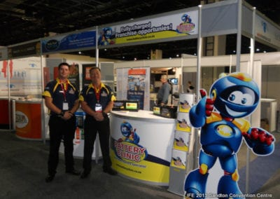 The International Franchise Expo 2013 - Battery Clinic