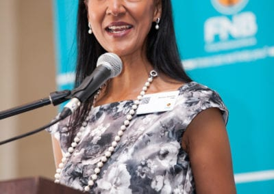 Bernice Samuels - Chief Marketing Officer FNB