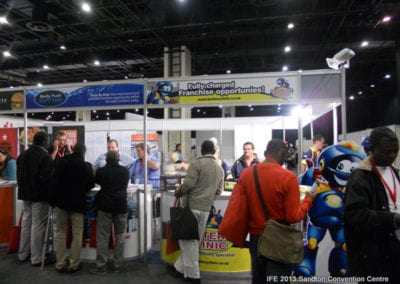 The International Franchise Expo 2013 - Body Fuel Express & Battery Clinic