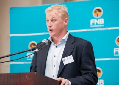 Jacques Cilliers - CEO FNB Business Banking