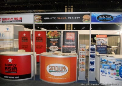 The International Franchise Expo 2013 - Simply Asia, Stadium Fast Foods, Body Fuel Express