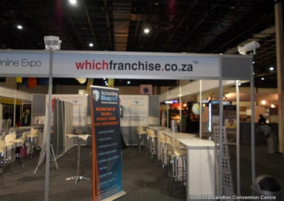 The International Franchise Expo 2013 - Whichfranchise Stand