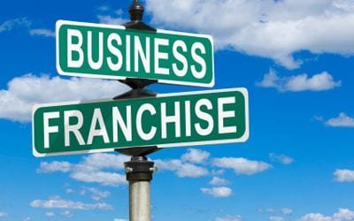 How does a franchise business compare to a normal business?